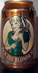 Pick Axe Blonde Ale