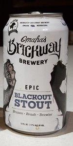 Epic Blackout Stout