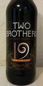 19th Anniversary Imperial Barley Wine Style Stout