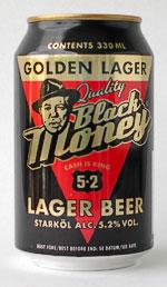 Kopparbergs Black Money Golden Lager