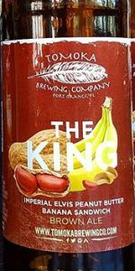 The King  - Imperial Elvis Peanut Butter Banana Sandwich Brown Ale