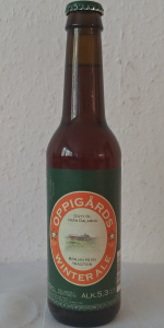 Oppigårds Winter Ale