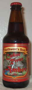 Northwest's Best Cedar River Amber Ale