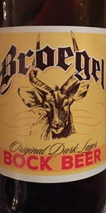 Broegel Bock Beer