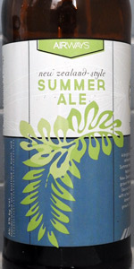 New Zealand-Style Summer Ale