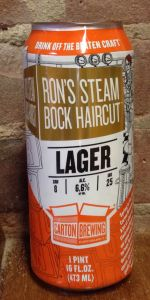 Ron's Steam Bock Haircut