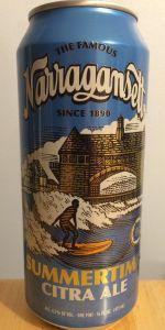 Narragansett Summertime Citra Ale