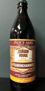 Barrel-Aged Framinghammer - Cordon Rouge