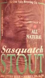 Sasquatch Stout