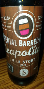 Barrel Aged Imperial Neapolitan Milk Stout