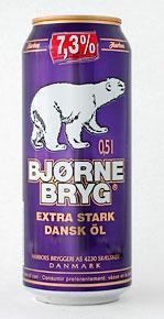 Harboe Bjørnebryg Extra Stark (Bear Beer Extra Strong)