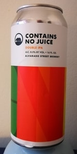 Contains No Juice
