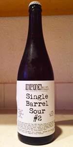 Single Barrel Sour #2