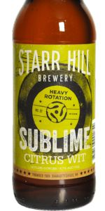 Sublime Citrus Wit (Heavy Rotation Series No. 02)
