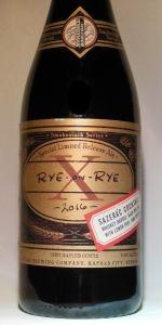 Rye On Rye X: Sazerac Cocktail