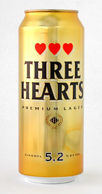 Three Hearts Premium Lager