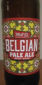 Mill Street Belgian Pale Ale