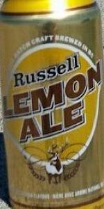 Russell Lemon Ale