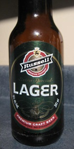 Russell Extra Special Lager
