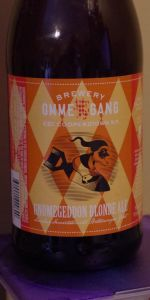 Gnomegeddon Blonde Ale