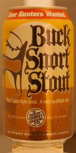 Buck Snort Stout