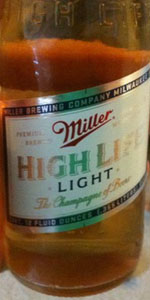 miller high life light miller brewing co beeradvocate. Black Bedroom Furniture Sets. Home Design Ideas