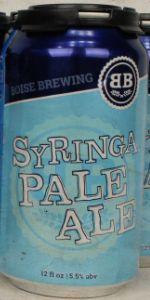 Syringa Pale Ale