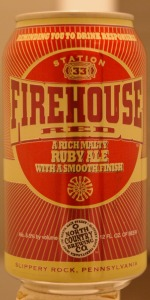 Station 33 Firehouse Red