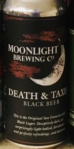 Death & Taxes Black Beer