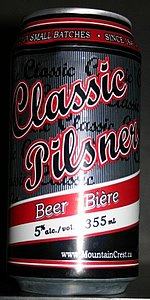 Mountain Crest Classic Pilsner