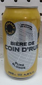 Bière De Coin D'rue - Sûre