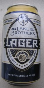 Lake Brothers Lager