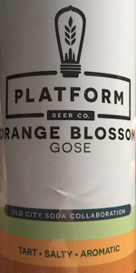 Orange Blossom Gose
