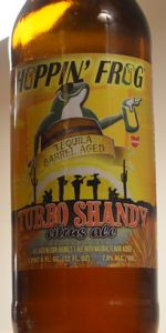 Turbo Shandy - Tequila Barrel-Aged