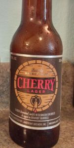 Cherry Lager - Brandy Barrel-Aged
