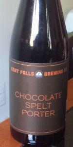 Chocolate Spelt Porter