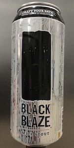 Black Blaze Milk Stout