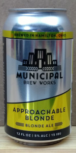 Approachable Blonde Ale