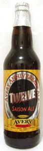 Avery Anniversary Ale - Twelve (Saison Ale)