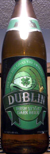 Dublin Irish Style Dark Beer