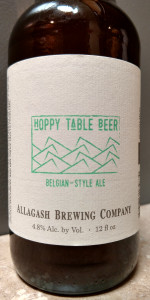 Hoppy Table Beer