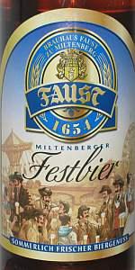 Faust Festbier