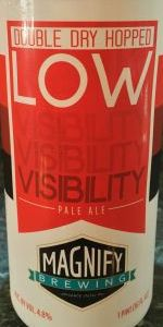 Low Visibility - Double Dry-Hopped With Mosaic