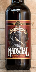 Trip In The Woods: Narwhal Imperial Stout (Aged In Red Wine Barrels)