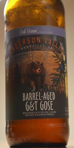 Bahl Hornin' Barrel-Aged G&T Gose