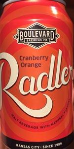 Cranberry Orange Radler
