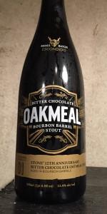 Bitter Chocolate Oakmeal Bourbon Barrel Stout
