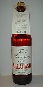 Allagash 10th Anniversary Ale