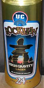 Rockman High Gravity Lager