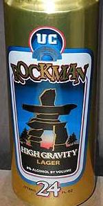 Rockman High Gravity Lager